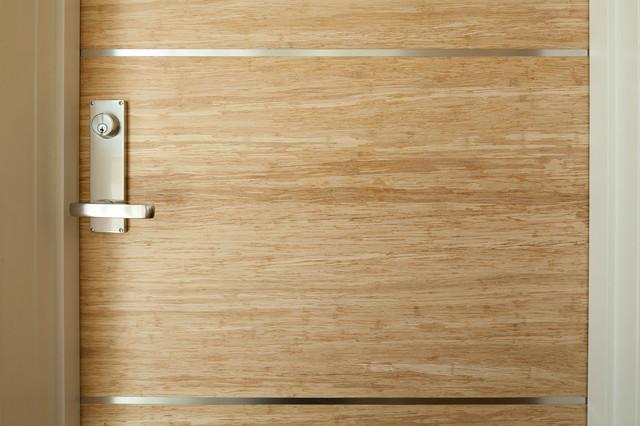 Great Bamboo Door U0026 Floors Modern Entry