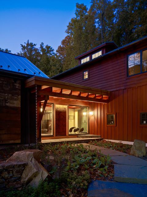 Barn Reconsidered modern-porch