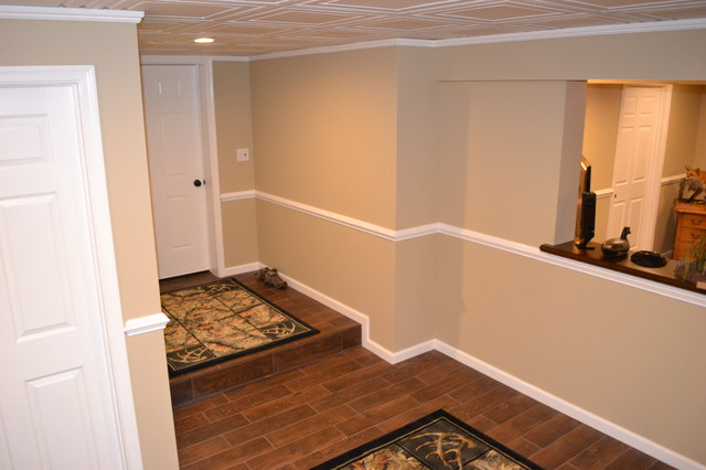 Basement Finishing Traditional Entry Philadelphia By Chester County Kitchen Bath