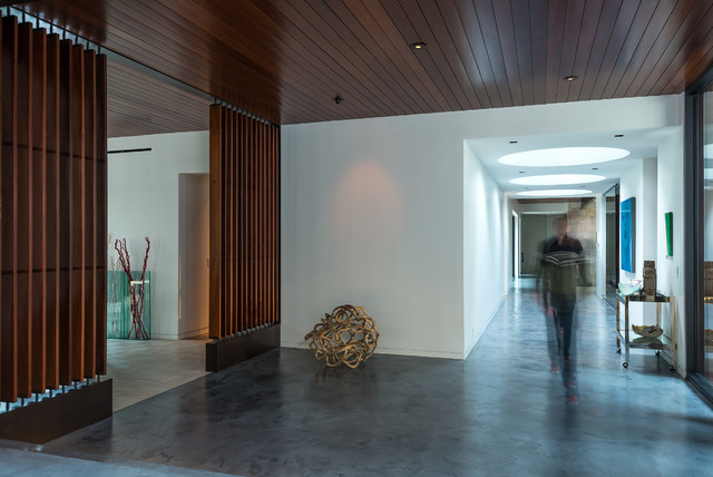 Bayou Residence contemporary-entry