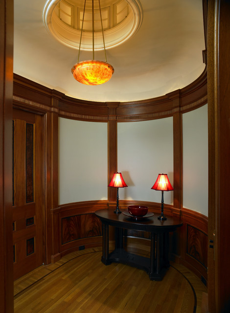 Beacon Hill Condominium - Entry Parlor traditional-entry