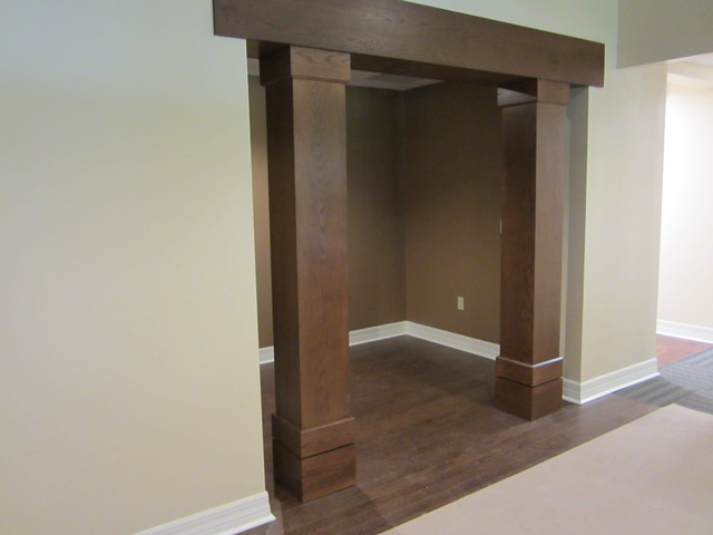 Beams and columns - Craftsman - Entry - orlando - by LSR Custom Cabinets, inc