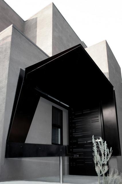 entrance canopy modern entry los angeles by dom n ltd