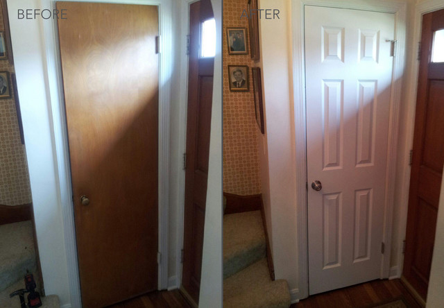 Before and After Transformations - Modern - Entry - chicago - by HomeStory Easy Door Installation