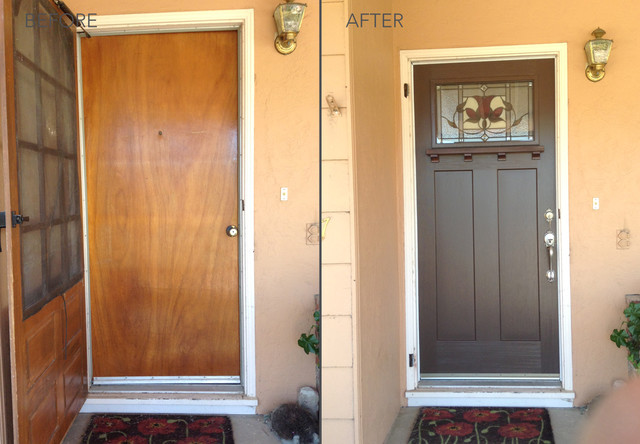 Before and After Transformations - Modern - Entry - sacramento - by ...