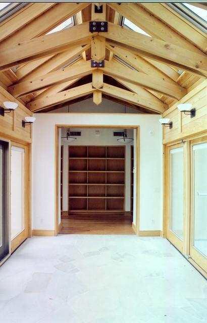 Bellaire Solar Home modern-entry