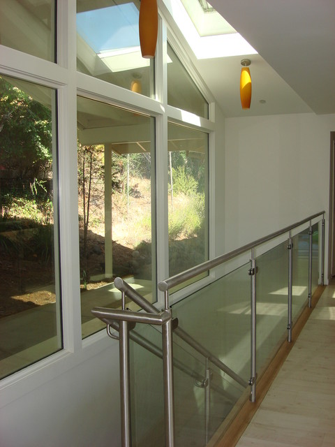 Belvedere CA Mid Century MODERN Renovation/Addition Belvedere AV modern entry