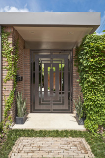 Bering house cameron armstrong architect midcentury for Mid century modern architects houston