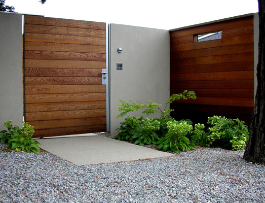 Blasen gardens modern entry san francisco by for Modern front gate design