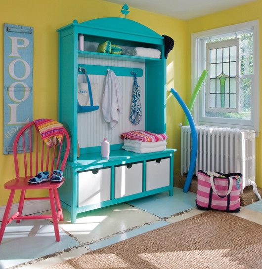 » Blog Archive » For Coastal Cottage Color Lovers! tropical-entry