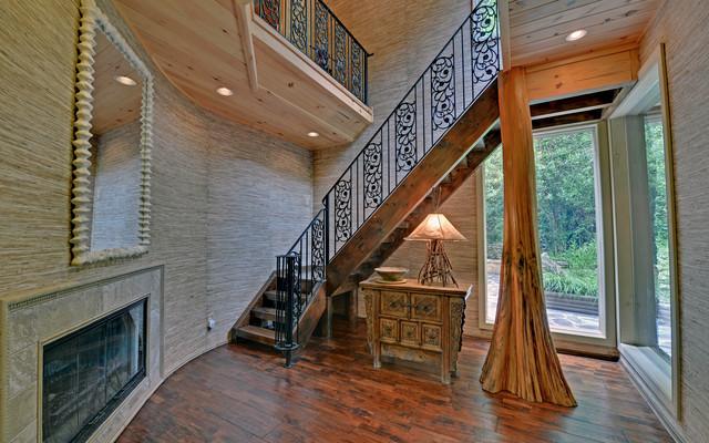 Blue Ridge Georgia Custom Homes Traditional Entry