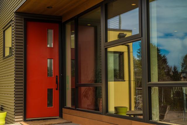 Blue Ridge Remodel contemporary-entry