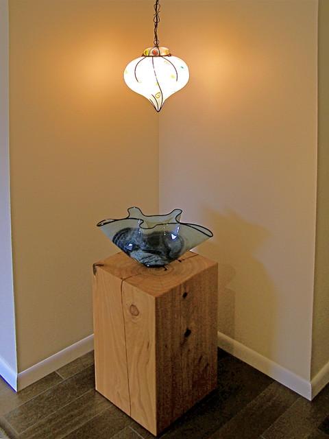 Bodega Bay Coast-Glass collectors home contemporary-entry