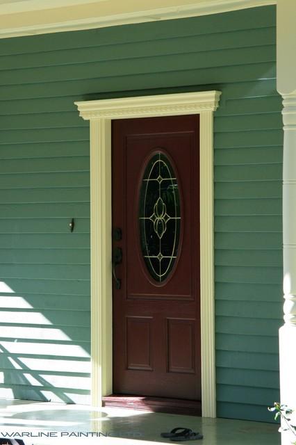 Bold Front Door entry