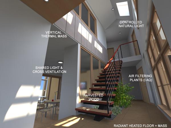 Bonsai RVR house contemporary-entry