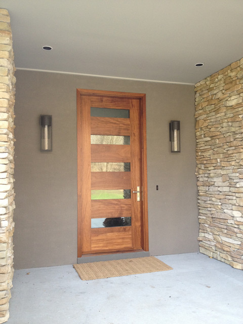 Borano modern doors modern entry miami by borano for Exterior front door lights