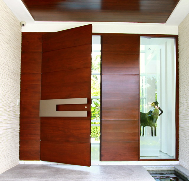 Borano modern doors modern entry other metro by borano for Residential main door design