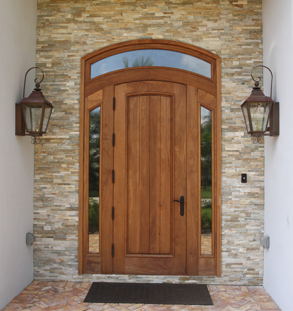 Borano Rustic Doors traditional-entry