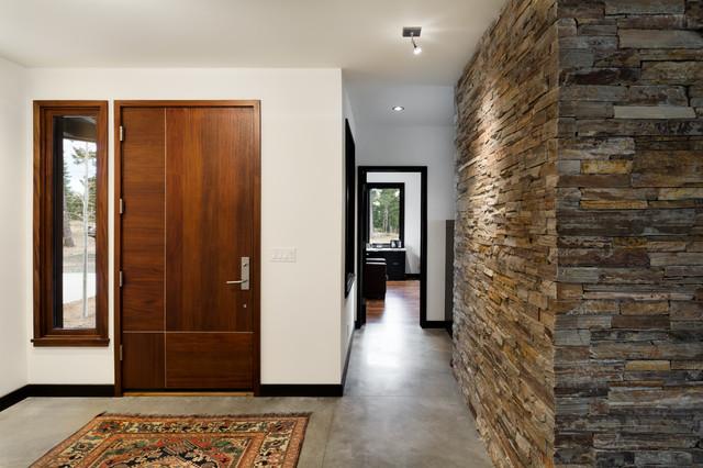 Boulder Contemporary Home contemporary-entrance