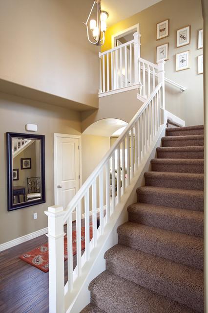 Breckenridge Plan - Stillwater Model Home traditional-entry