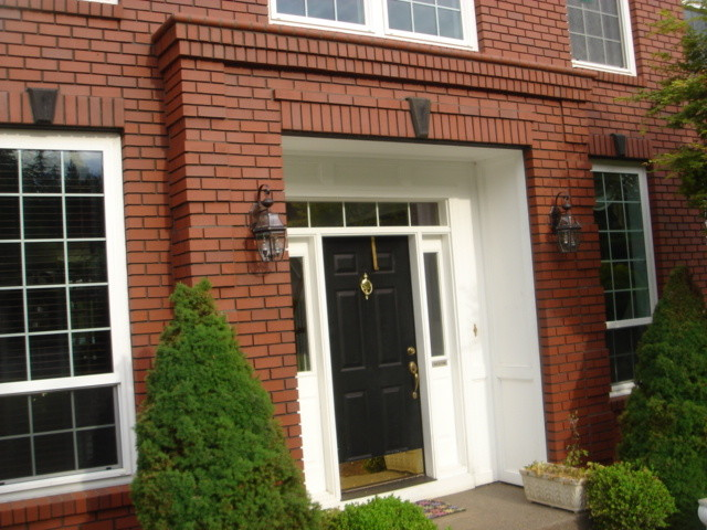 Brick Veneer Exterior Traditional Entry Portland By Brown Bros Masonry