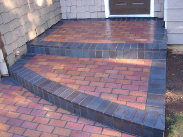 Brick veneer exterior for Glue on brick veneer