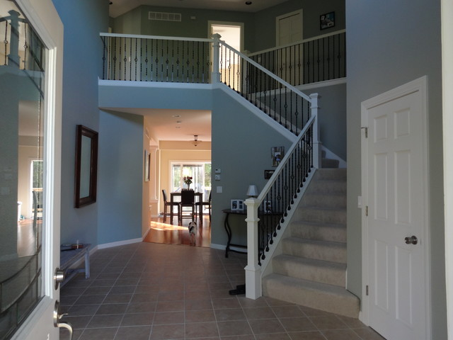 Brooklyn Park New House traditional-entry