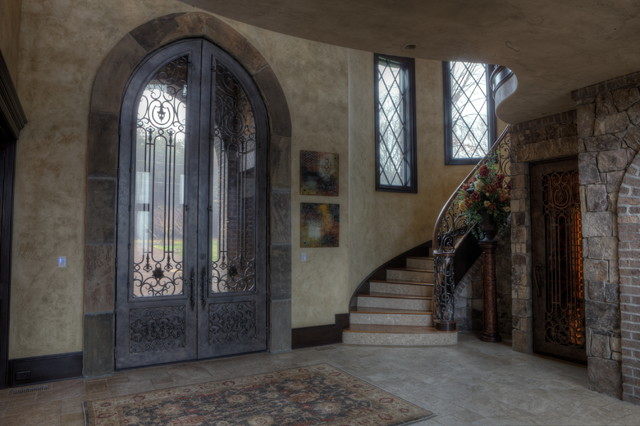 Brosseau Rose Residence traditional-entry