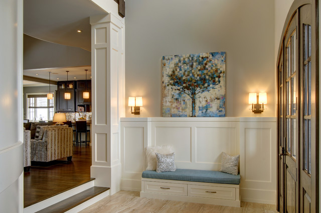 Country Home Foyers : Calgary s country chic living traditional entry