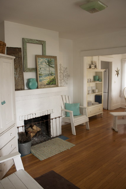 California Cottage Comfort eclectic-entry