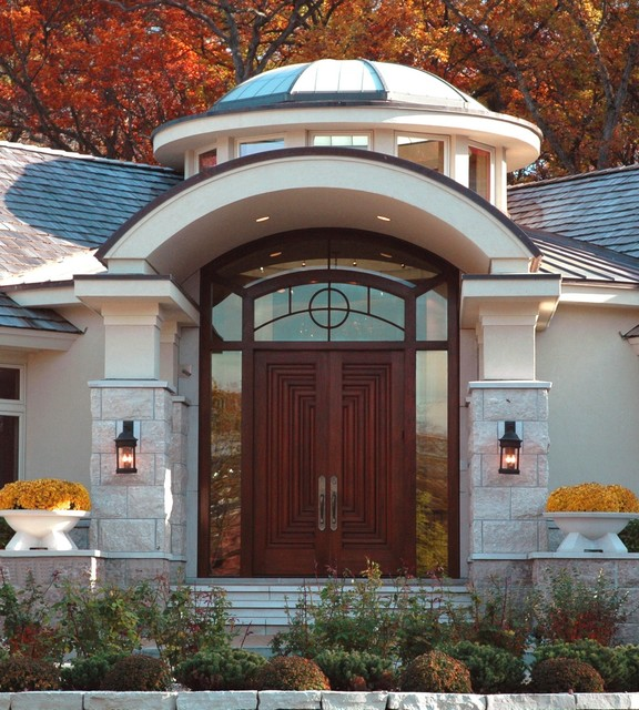 Cantera Elegance Traditional Entry Minneapolis By Skd Architects