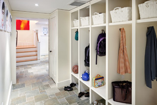 Carpenter Gothic Mudroom traditional entry