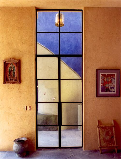 Casa de las Estrellas contemporary entry