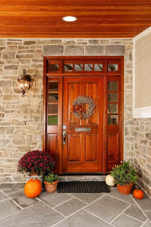 traditional front door