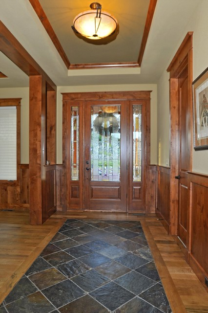 Castle Rock Craftsman Home Entry Denver