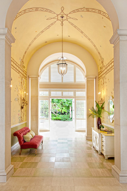 Casual palm beach tropical entry other metro by jma interior design Palm beach interior designers