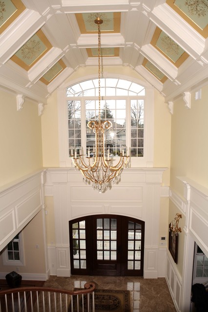 Catedral Coffered Ceilinds traditional-entry