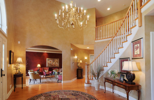 Cathedral Foyer Arlington Heights Il Traditional