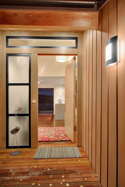 Cedar Park Residence 03 contemporary-entry