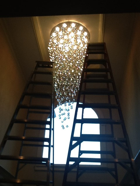 Entry Foyer Lighting Houzz : Chandeliers and pendant lighting modern entry