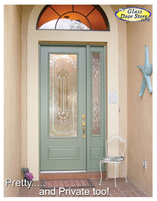 Change the existing glass in the door - Traditional - Entry - tampa - by The Glass Door Store