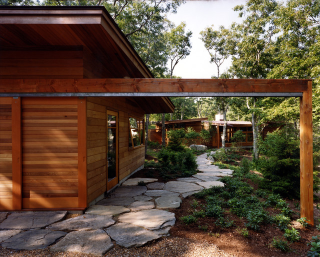 Charles Rose Architects Inc. contemporary entry