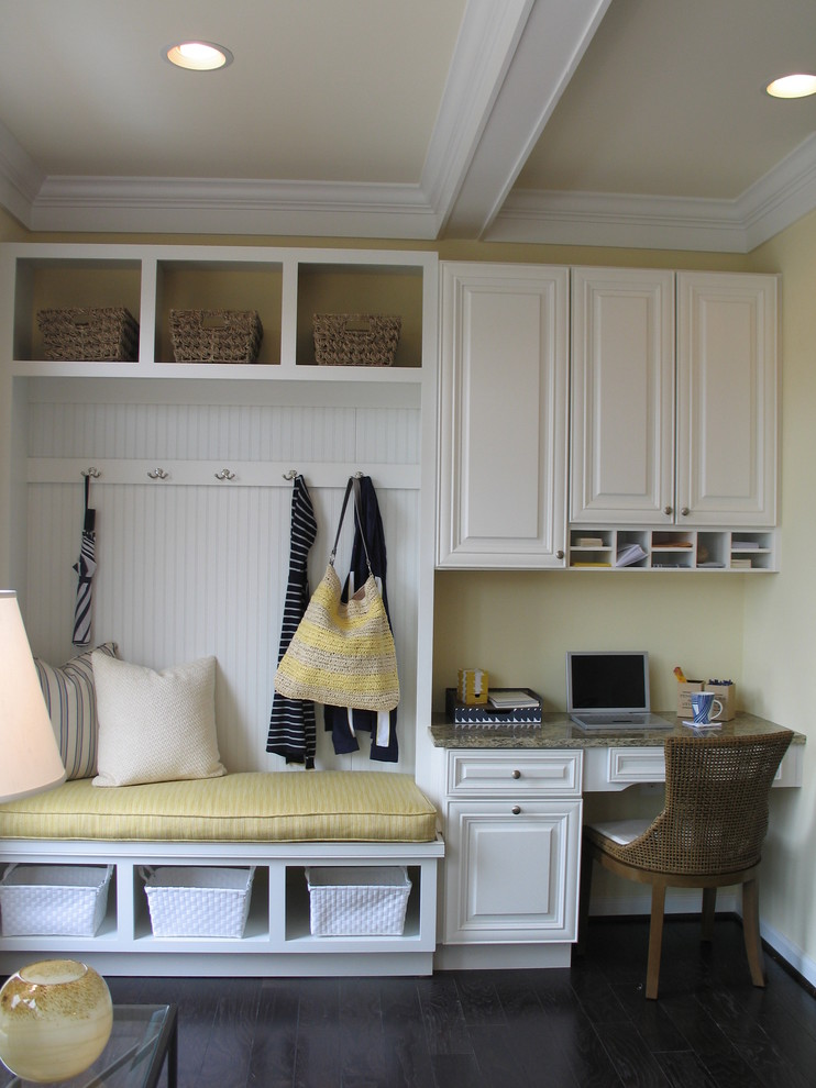 Inspiration for a timeless mudroom remodel in DC Metro