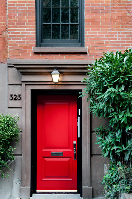 Chelsea Townhouse Traditional Entry New York By