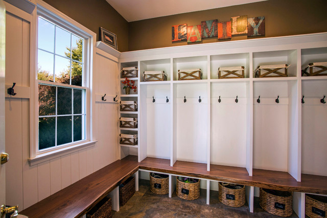 Chester springs mudroom and pantry farmhouse entry for Mudroom pantry
