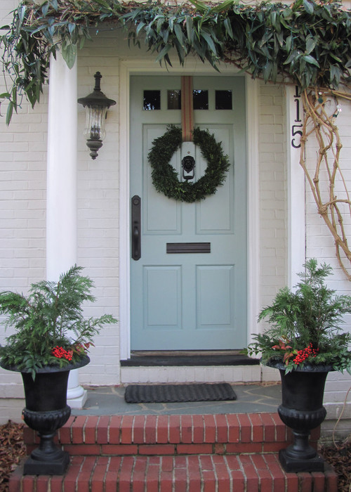 I Have A Tan Vynil Siding House Do You Think This Door