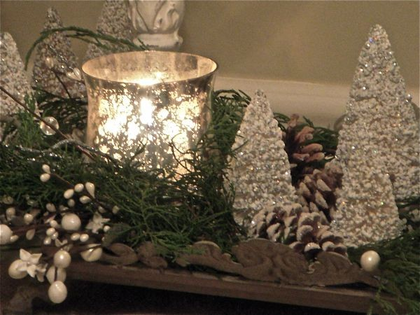 Christmas Vignettes traditional entry