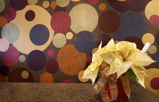 Circle Wall Application (Various Colored Patterns) modern-entry