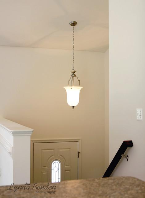 Traditional Foyer Questions : Clarksville model split foyer design