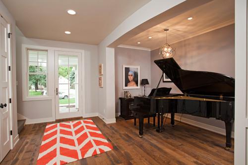 Contemporary Entry by Edina General Contractors REFINED LLC
